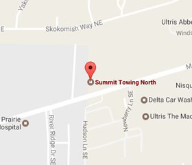 Summit Towing North on Google Maps